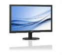 "223V5LSB/00, Philips 223V5LSB, 21.5"" Wide TN LED, 5 ms, 10M:1 DCR, 250cd/m2, 1920x1080 FullHD, DVI, Black -- снимка"