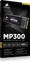 CSSD-F480GBMP300, SSD Corsair Force MP300 Series NVMe (PCIe Slot) M.2 2280 SSD 480GB 3D TLC NAND; Up to 1, 600MB/s Sequential Read, Up to 1, 040MB/s -- снимка