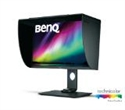 "9H.LGLLB.QBE, BenQ SW271, 27"" Wide IPS Anti-Glare, 5ms, 1000:1, 20M:1 DCR, 350 cd/m2, 3840x2160 4K UHD, AdobeRGB 99%, HDMI, DP, USB Type-C, USB 3.0 -- снимка"