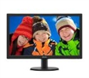 "243V5LHSB/00, Philips 243V5LHSB, 23.6"" Wide TN LED, 1 ms, 10M:1 DCR, 250 cd/m2, 1920x1080 FullHD, DVI, HDMI, Black -- снимка"
