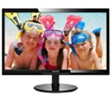 "246V5LHAB/00, Philips 246V5LHAB, 24"" Wide TN LED, 1 ms, 1000:1, 10М:1 DCR, 250 cd/m2, FHD 1920x1080@60Hz, D-Sub, HDMI, Headphone Out, Speakers, Black -- снимка"