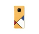 6901443260126, Huawei C-Laya-case, PU Thicknessing Protective Cover, Yellow, HUAWEI, Overseas Version- Mondrian Theme Case, Independent packaging -- снимка