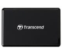 TS-RDF9K2, Четец за флаш карта Transcend USB 3.1 Gen 1/3.0 UHS-II All-in-1 Multi Card Reader for SD/microSD/CompactFlash, Black -- снимка