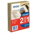 C13S042167, Epson Premium Glossy Photo Paper, 100 x 150 mm, 255g/m2, 80 Blatt -- снимка