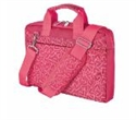 "21163, TRUST Bari Carry Bag for 13.3"" laptops - pink hearts -- снимка"