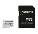 TS256GUSD300S-A, Памет Transcend 256GB UHS-I U3 V30 A1 microSDXC I, Class10 with Adapter, read: up to 95MBs, 45MB/s -- снимка