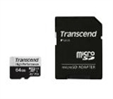 TS64GUSD330S, Памет Transcend 64GB microSDXC I UHS-I U3, V30, A2 for (4K Ultra HD recordings and game consoles) Class10 with Adapter, read-write: up -- снимка