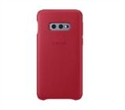 EF-VG970LREGWW, Samsung S10e G970 Leather Cover Red -- снимка