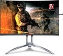 "AG273QCX, AOC AG273QCX, 27"" Wide Curved VA, LED, 1 ms, 3000:1, 50M:1 DCR, 400 cd/m2, 2560x1440@144Hz, Height Adjust, Tilt, Swivel, USB, D-Sub, HDMI -- снимка"
