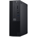 OptiPlex 3060 SFF, 200W, TPM, Core i7-8700 (12MB Cache, up to 4.6 GHz), 4GB (1X4GB) 2666MHz, M.2 128GB SATA SSD, 8x DVD+/-RW 9.5mm, VGA Port, Mouse -- снимка