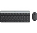 920-009204, Logitech Slim Wireless Keyboard and Mouse Combo MK470 - GRAPHITE -- снимка