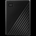 HDD External WD My Passport (4TB, USB 3.2) Black -- снимка