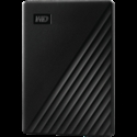 HDD External WD My Passport (1TB, USB 3.2) Black -- снимка