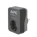 PME1WB-GR, APC Essential SurgeArrest 1 Outlet Black 230V Germany -- снимка