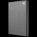 SEAGATE HDD External Backup Plus Slim ( 2.5'/2TB/USB 3.0) Space Grey -- снимка