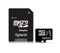 AP32GMCSH10U1-R, Apacer 32GB Micro-Secure Digital HC UHS-I Class 10 (1 adapter) -- снимка