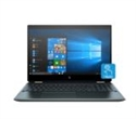 """10B13EA, HP Spectre x360 15-df1049na Poseidon Blue, Core i7-10510U(1.8Ghz, up to 4.9GHz/8MB/4C), 15.6"""" UHD IPS UWVA AG Touch with Privacy, 16GB -- снимка"""